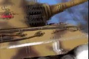 Two Tigers of the snowy hill - 1/16 Tamiya RC King Tiger tanks... ^^