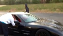 Z06 corvette drifting and donuts take2