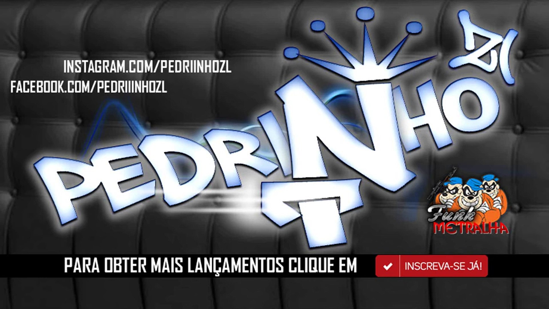 MC Pedrinho e MC Menor da VG - Vai Sentando Devagar, Vai Kikando Sem Parar Nova2015 (PedrinhoZl)