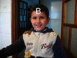 petits enfants Kabyles avants qu'ils soient scolarisés à l'école Algérienne, ils