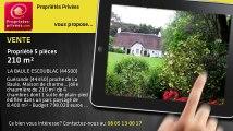 A vendre - propriété - LA BAULE ESCOUBLAC (44500) - 5 pièces - 210m²