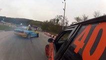 BMW e30 Beautiful Drift. Side by side Drifting