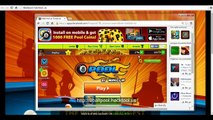 8 Ball Pool Game On - Facebook - How  To Cheat And  Win 2012 - 8 Ball Pool Cheats Codes