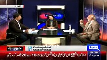 Haroon Rasheed Telling The Big Corruption Of Information Minister Parvez Rasheed