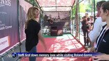 Steffi Graf remembers French Open at Roland Garros