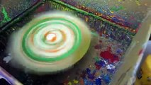 Spin art, simple homemade device /////Homemade Science with Bruce yeany