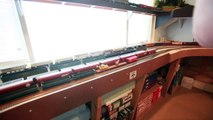 LAYOUT TOUR - HO Scale - NSMODELER24's Layout - Norfolk Southern - Double Deck
