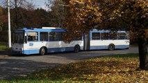 autobusy, trolejbusy a tramvaje v Ostravě (27.10.2010)