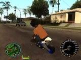 Filho do CJ - Dando Um Rolê de Mini-Moto - GTA San Andreas