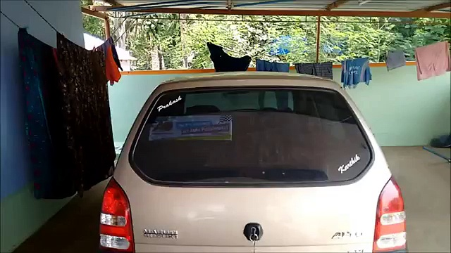 DIY Spoiler for Maruti Suzuki Alto using Glass Fibre
