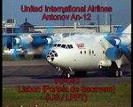 United International Airlines Antonov An-12