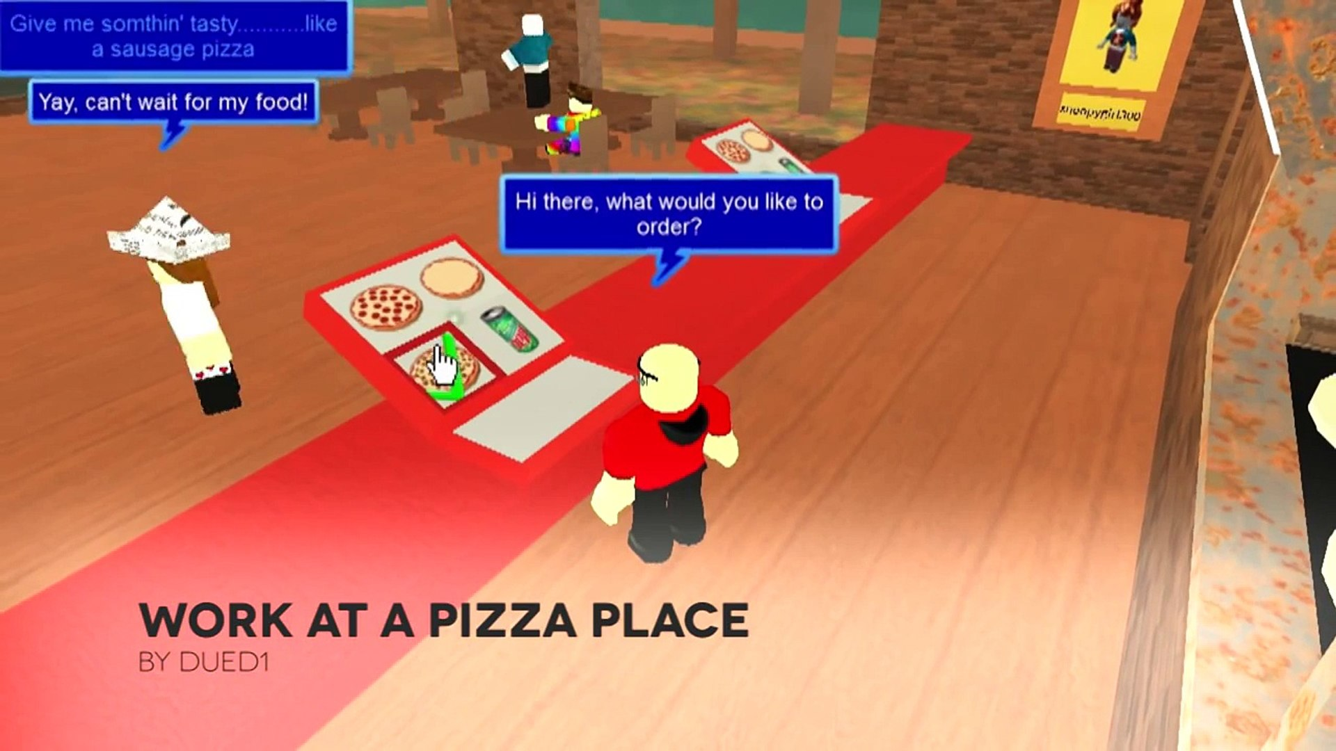 Work At A Pizza Place Game Review Video Dailymotion