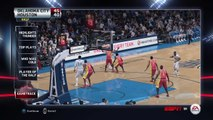 NBA 2015 - Houston Rockets vs Oklahoma City Thunder - Half Highlights - NBA LIVE 15 PS4 - HD