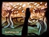 """Sand Art by Ilana Yahav - SandFantasy - """"Green Dream"""""""