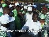 Côte dIvoire - Henri Konan Bedie ambiance campagne présidentielle 2010