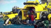 Мультик Лего Сити ПРИДУРКИ   Открой Тайны Океана LEGO city WANKERS Unlock the Mysteries of the Ocean