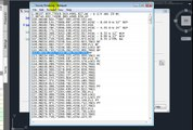 AutoCAD Lisp - Import Point Data - Export Point Data, CSV
