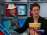Rachel Maddow Grabs Some Popcorn - 23 Jan 2009