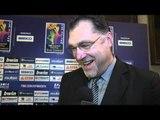 Arvydas SABONIS (Lithuania) Final Draw reaction
