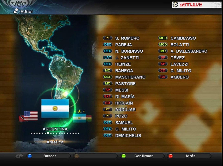 PES 2011 - Argentina Nuevo Kit Visitante 2011/2013 [Copa America 2011] + Descarga