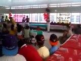 Apresentação do grupo de Capoeira na Escola Paulo Lauda CIEP Santa Maria