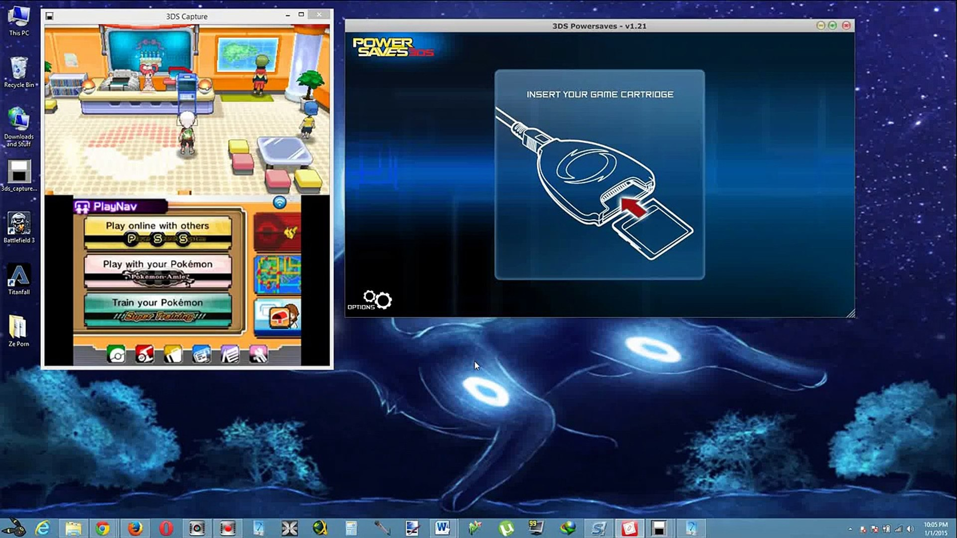 How To Get Any Pokemon You Want In Pokemon Omega Ruby and Alpha Sapphire  With Powersaves