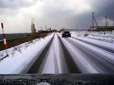 【ジムニーでドライブ】 年末年始 大雪の東北編(後編1 3)【車載動画】