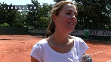 Staragora à la rencontre des vainqueurs du Tournoi des personnalités de Roland-Garros 2015