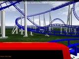 Triple Corkscrew No Limits Coaster Creation