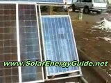 DIY HOME SOLAR POWER PV ARRAY INSTRUCTIONS Convert House Off Grid Solar Power System