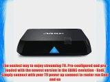 Powerlead M8C Android 4.4 Smart TV box - Kodi XBMC 14.0 Quad Core HDMI Dual WiFi LAN UHD 4K