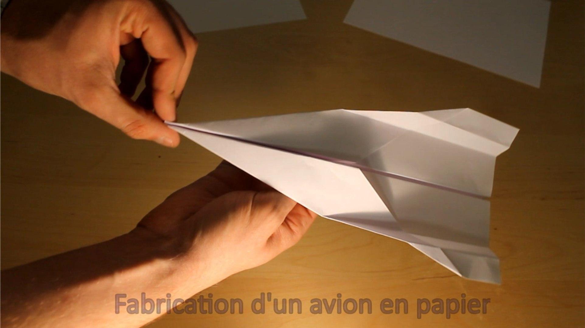 Comment Faire Un Avion En Papier Qui Vole Tres Bien Et Longtemps Un Ex No Life Bricole