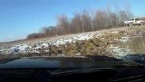 2010 Ford F-150 SVT Raptor, SVT Raptor Playin w/Dodge Ram 2500 Lifted