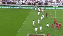 TOP14 - Toulon - Stade Français Paris: Essai Drew Mitchell (TLN) - Demi-finale - Saison 2014/2015