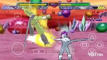 (psp)dragonball z shin budokai-เซล vs ฟรีซเซอร์