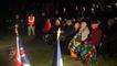 Midnight ceremony à Pegasus Bridge
