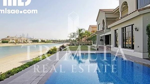Upgraded 6 BR Signature Villa  Gallery View Type in Palm Jumeirah with Private Beach - mlsae.com