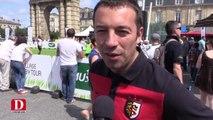 Supporters toulousains et clermontois satisfaits de la victoire du Stade Français