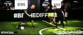 Zinedine Zidane & Enzo Zidane vs Sean Garnier Freestyle - The base Adidas| Berlín - 2015
