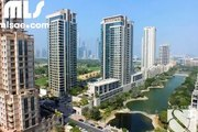 A fully furnished two bedroom apartment with lake views in the popular Mosela tower in The Views. - mlsae.com