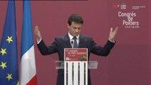Congrès du PS : Manuel Valls fait (longuement) applaudir François Hollande