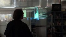 Holographic Projection Touch Screen