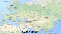 Dünya'nın En Büyük 10 Ülkesi