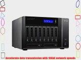 QNAP TS-1079-PRO-US 10-Bay iSCSI NAS SATA III.  USB 3.0 (TS-1079-PRO-US)