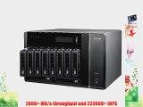 QNAP TS-EC1080-PRO 10-Bay iSCSI Tower NAS SATA 6G 4LAN 10G-ready(TS-EC1080-PRO)
