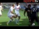 Radamel Falcao çıldırdı! Radamel Falcao, Augsburg, AS Monaco YouTube