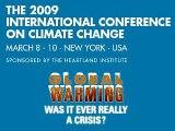 2009 International Conference on Climate Change (spoof) (global warming 'skepticism')