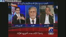 Television Anchor Desperately Tries to Defend PMLN Poor Performance (June 04, 2015)