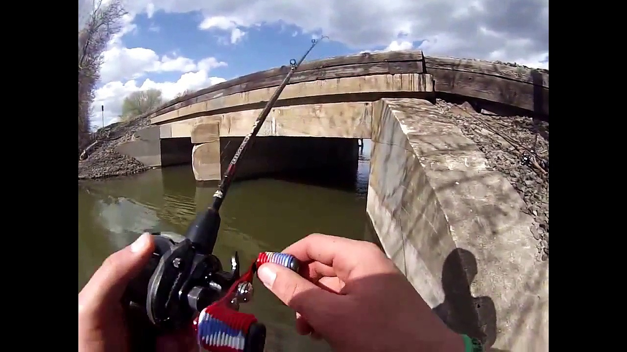 Bass Fishing Video May 2015