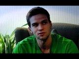 Interview with Mantas Kalnietis, Tomas Delininkaitis (LTU) - 2010 FIBA World Championship in Turkey.